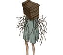 Коробка с ногами