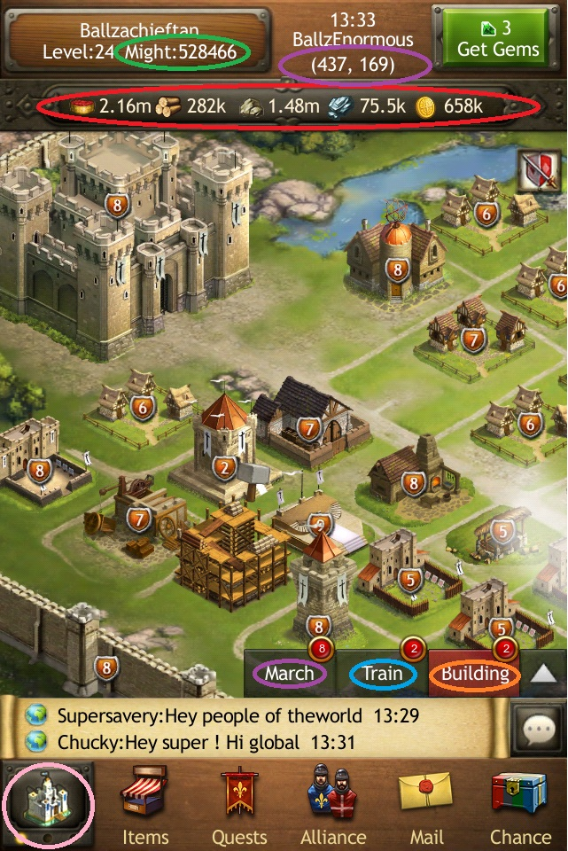 Introduction to Kingdoms of Camelot - Battle for the North   Kindoms on elsword map, merlin map, mabinogi map, runes of magic map,