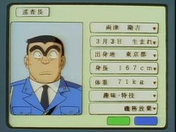Kankichi Ryotsu Profile