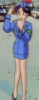 Komachi doing her job 2