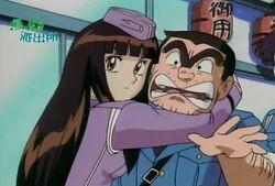 Maria and Ryotsu anime
