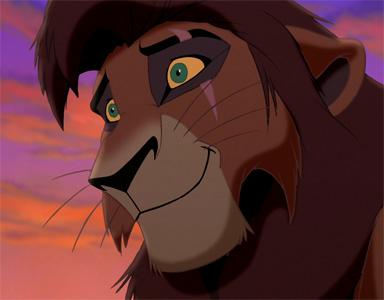 Böser Löwe König Der Löwen