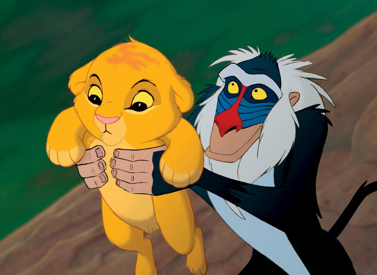 Affe König Der Löwen