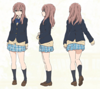 Nishimiya Shouko uniform