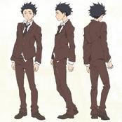 Ishida Shouya uniform
