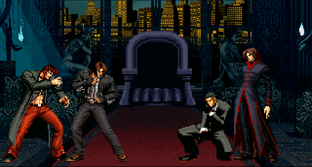 File:KoFM Kyo and Iori Ending.png