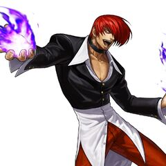 The King of Fighters XIII Iori-EX