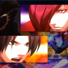 Kyo y Iori The King of Fighters XIII