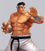 Goro Daimon 96 the king of figthers all stars