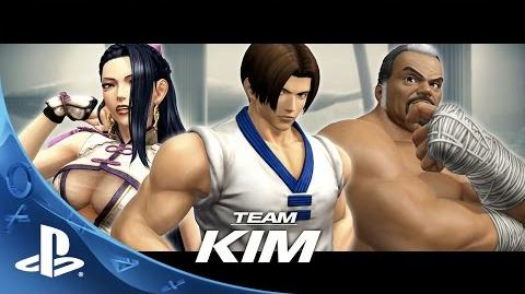 THE KING OF FIGHTERS XIV - Team Kim Trailer PS4-0