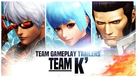 THE KING OF FIGHTERS XIV Team K' Trailer PS4