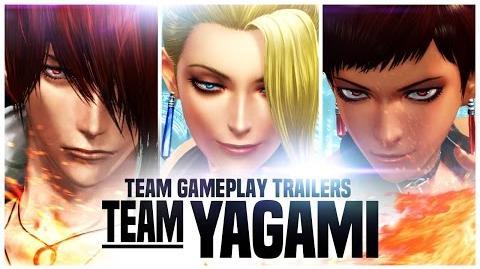 "KOF XIV TEAM GAME PLAY TRAILER 2 ""YAGAMI"""