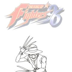 The King of Fighters 96 (arte conceptual)