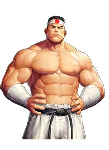 Goro Daimon 97 the king of fighters all stars