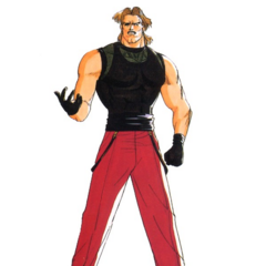 The King of Fighters '94 concept artwork