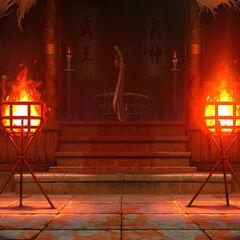 Templo Mr. Karate Stage