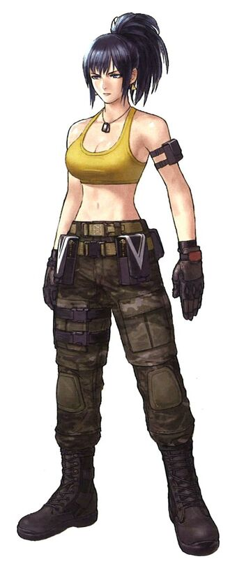 Leona Heidern The King Of Fighters Wiki Fandom