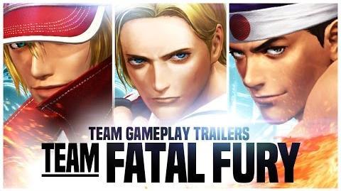 "KOF XIV - Team Gameplay Trailer 3 ""FATAL FURY"""