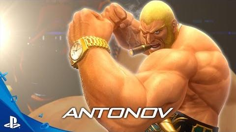 The King of Fighters XIV - Antonov Trailer PS4