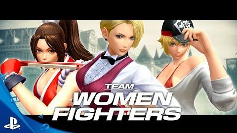 The King of Fighters XIV - Team Women Fighters Trailer PS4
