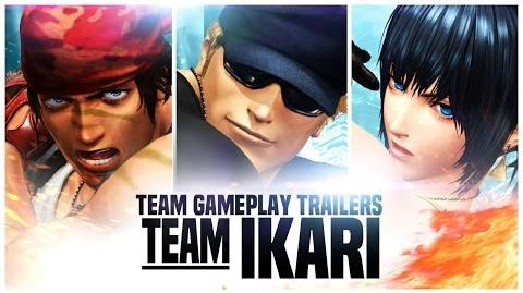 King of Fighters XIV Team Ikari Trailer PS4