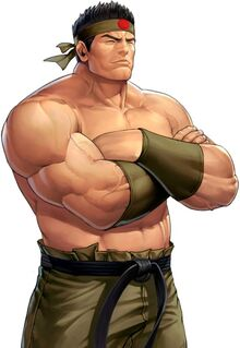 Goro Daimon 95 the king of fighers all stars