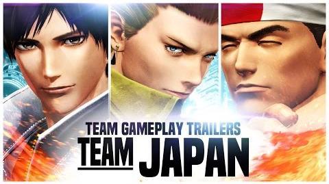 "KOF XIV TEAM GAME PLAY TRAILER 1 ""JAPAN"""