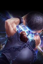 Chang Koehan the king of fighters all stars