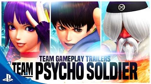 The King of Fighters XIV Team Psycho Trailer PS4
