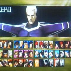 zero en la version ps2 junto igniz