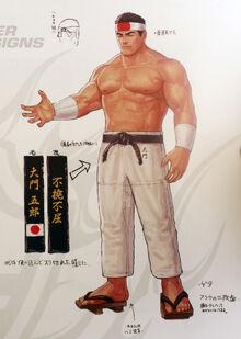 Goro Daimon-arte oficial,KOF XIV