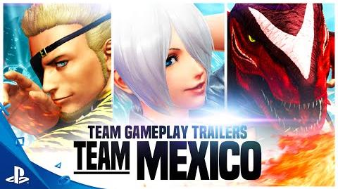 The King of Fighters XIV - Team Mexico Trailer PS4