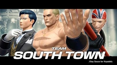 The King of Fighters XIV - Team South Town Trailer