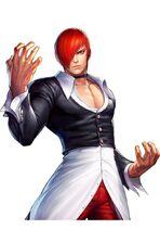 Iori Yagami 97 the king of fightres all stars