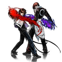 Kyo y Iori The King of Fighters 2002 Unlimited Match
