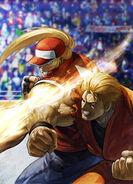 Terry vs Ryo final