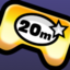 20 Million Plays badge