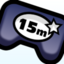 15 Million Plays badge