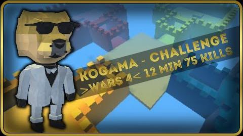 Kogama - Challenge - War 4 12 min 75 Kills