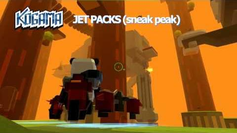 KoGaMa Jet Pack Sneak Peek