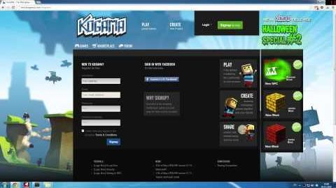 KoGaMa Tutorials - Sign Up Tutorial (HD) (0.9.2)