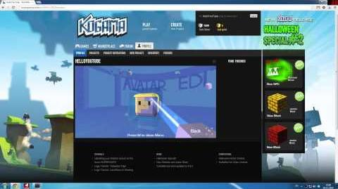 KoGaMa Tutorials - Avatar Edit Tutorial (HD) (0.9.2)