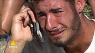 Marvyn craque au téléphone