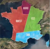 Koh-Lanta Les 4 Terres Carte