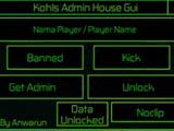 Kohls Admin House Gui