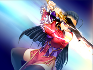 Shunran fight pose