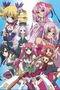 Shin Koihime Anime Cast
