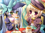 Shoku strategist tea time