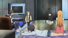 Gathering at Himeko's room