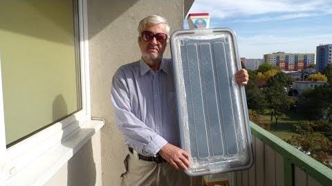 Kolektor solarny powietrzny wytłaczany ExtrudoCap (samokonstrukcja)